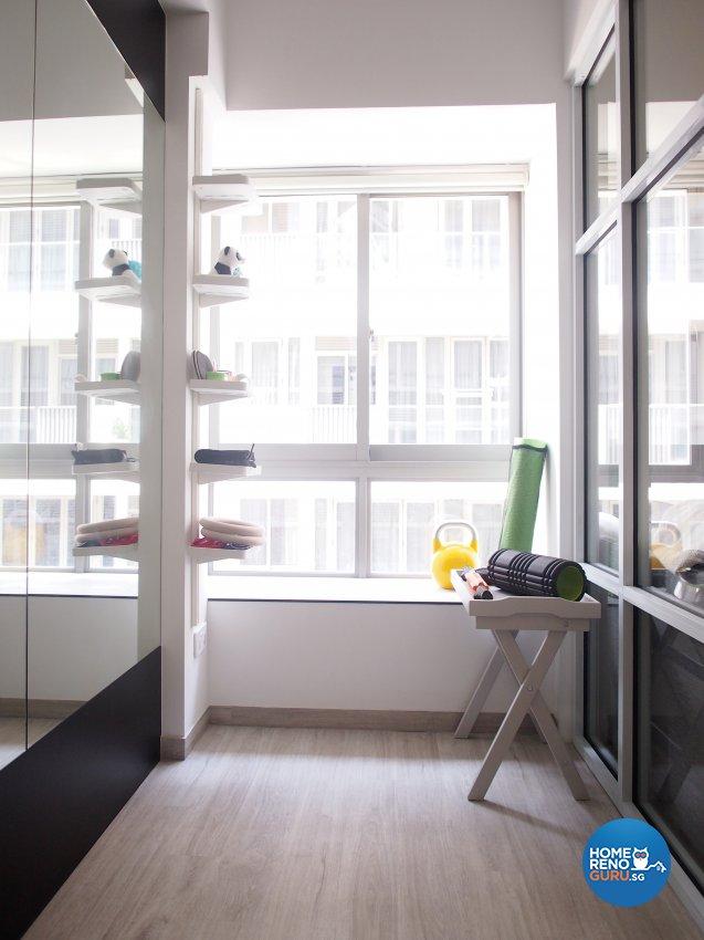 Minimalist, Scandinavian Design - Entertainment Room - Condominium - Design by The Minimalist Society Pte Ltd