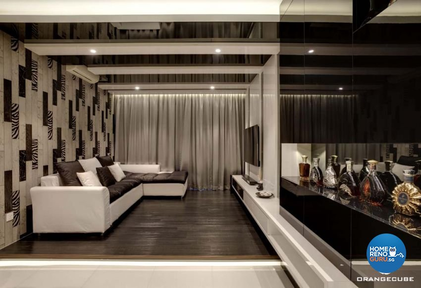 Contemporary, Modern Design - Living Room - Condominium - Design by The Orange Cube Pte Ltd