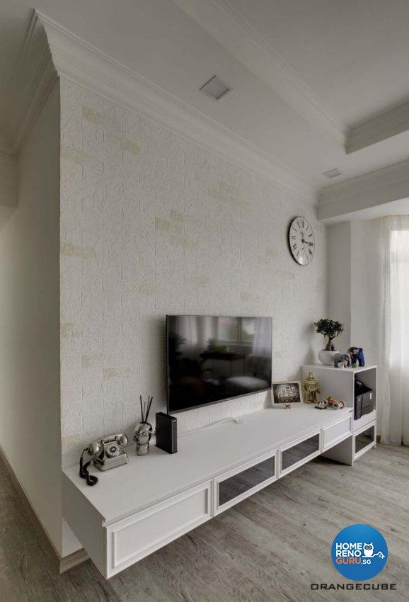 Contemporary, Scandinavian Design - Living Room - Condominium - Design by The Orange Cube Pte Ltd