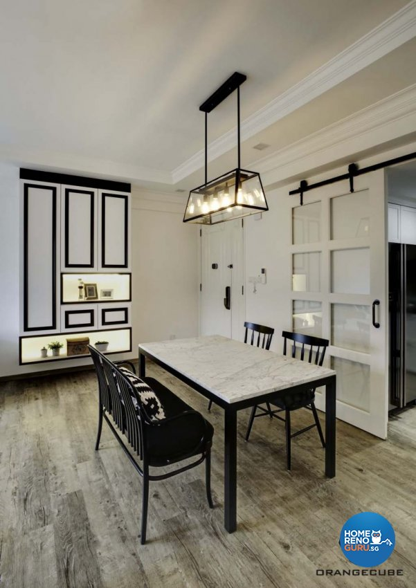 Contemporary, Scandinavian Design - Dining Room - Condominium - Design by The Orange Cube Pte Ltd