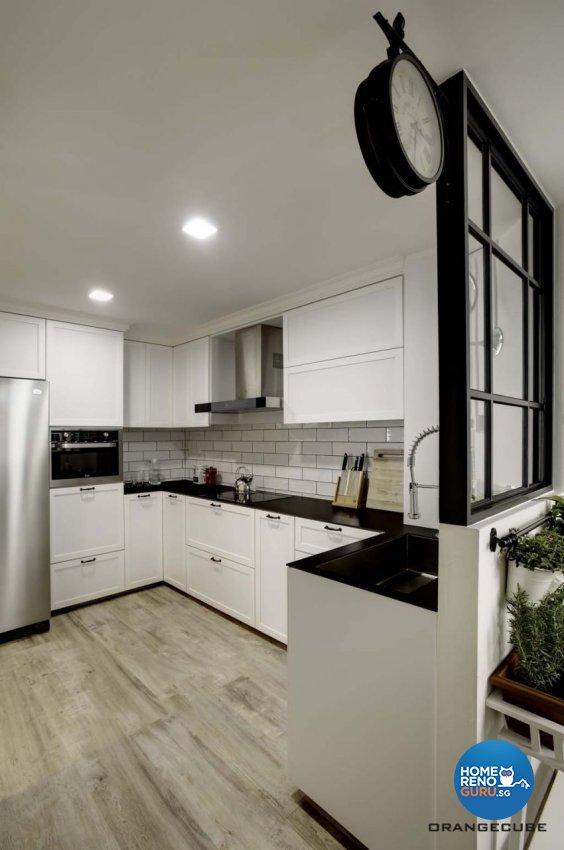 Contemporary, Scandinavian Design - Kitchen - Condominium - Design by The Orange Cube Pte Ltd