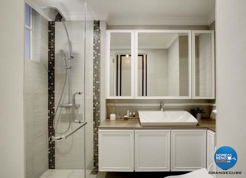 Contemporary, Scandinavian Design - Bathroom - Condominium - Design by The Orange Cube Pte Ltd