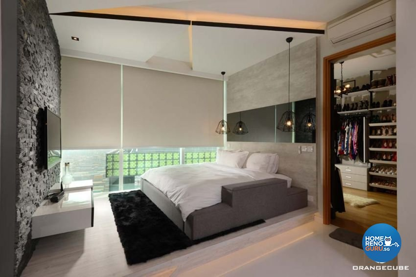 Contemporary, Modern Design - Bedroom - Condominium - Design by The Orange Cube Pte Ltd