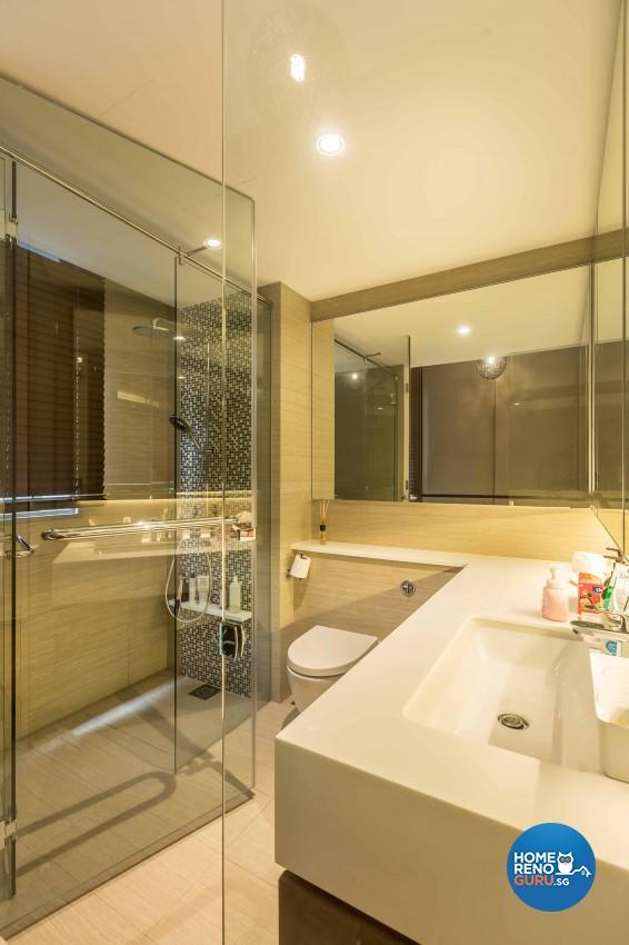 Contemporary, Modern Design - Bathroom - Condominium - Design by The Orange Cube Pte Ltd
