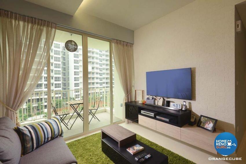 Contemporary Design - Living Room - Condominium - Design by The Orange Cube Pte Ltd