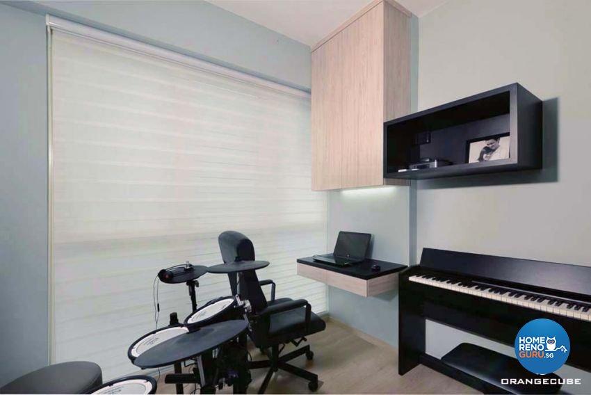 Contemporary Design - Study Room - Condominium - Design by The Orange Cube Pte Ltd