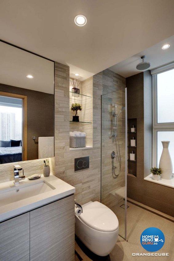 Contemporary Design - Bathroom - Condominium - Design by The Orange Cube Pte Ltd