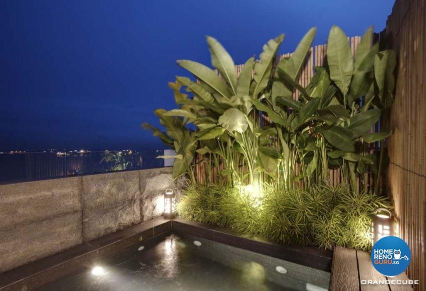 Contemporary, Modern Design - Balcony - Condominium - Design by The Orange Cube Pte Ltd