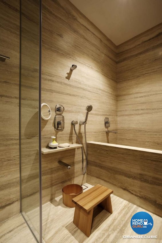 Contemporary, Modern Design - Bathroom - Condominium - Design by The Orange Cube Pte Ltd