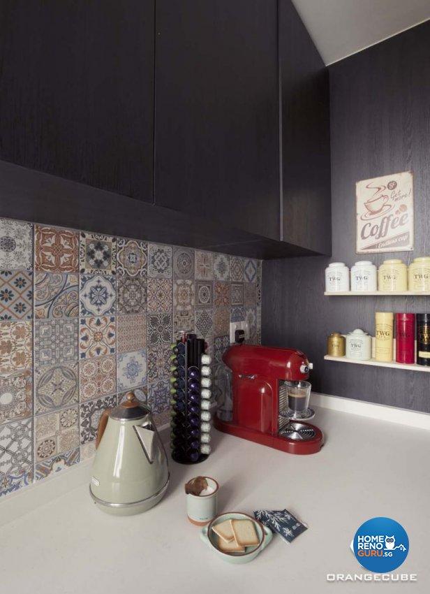 Contemporary, Modern Design - Kitchen - Condominium - Design by The Orange Cube Pte Ltd