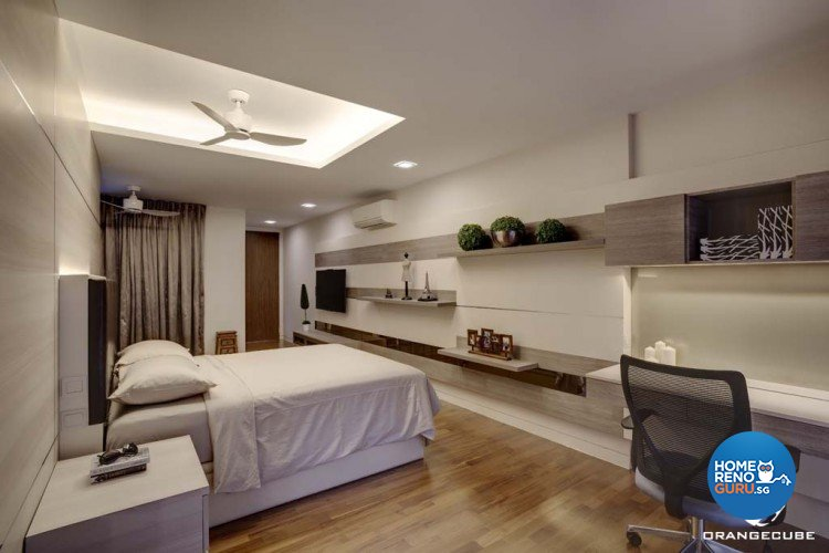 Minimalist, Modern Design - Bedroom - Condominium - Design by The Orange Cube Pte Ltd