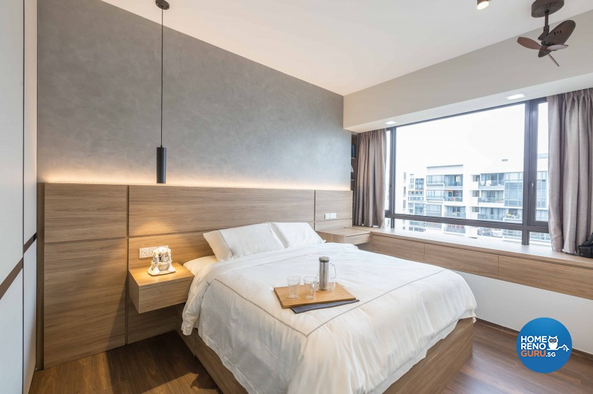 Industrial, Modern Design - Bedroom - Condominium - Design by The Orange Cube Pte Ltd