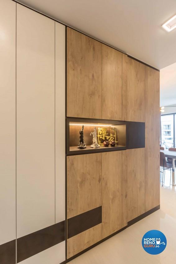 Industrial, Modern Design - Living Room - Condominium - Design by The Orange Cube Pte Ltd