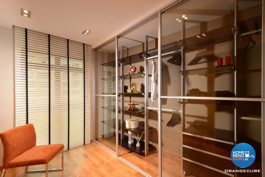 Contemporary, Modern Design - Bedroom - HDB 4 Room - Design by The Orange Cube Pte Ltd