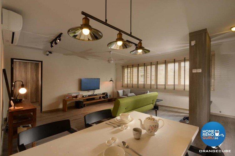 Minimalist, Scandinavian Design - Dining Room - HDB 4 Room - Design by The Orange Cube Pte Ltd