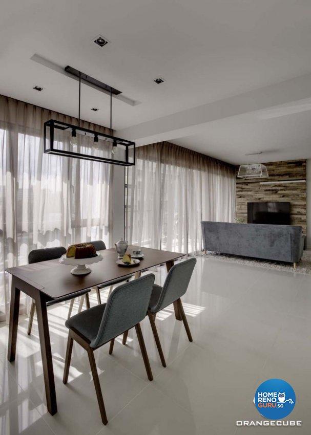 Contemporary, Scandinavian Design - Dining Room - HDB 5 Room - Design by The Orange Cube Pte Ltd
