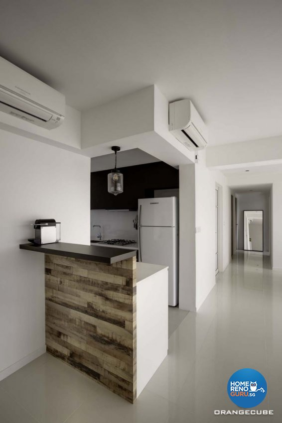 Contemporary, Scandinavian Design - Kitchen - HDB 5 Room - Design by The Orange Cube Pte Ltd