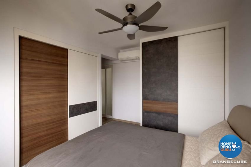 Contemporary, Scandinavian Design - Bedroom - HDB 5 Room - Design by The Orange Cube Pte Ltd