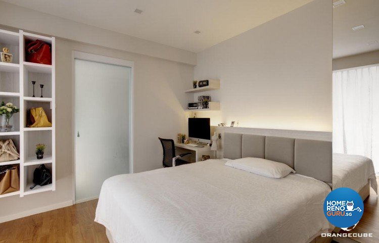 Contemporary, Modern Design - Bedroom - Landed House - Design by The Orange Cube Pte Ltd