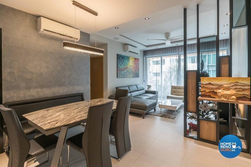 Classical Design - Dining Room - Condominium - Design by The Orange Cube Pte Ltd