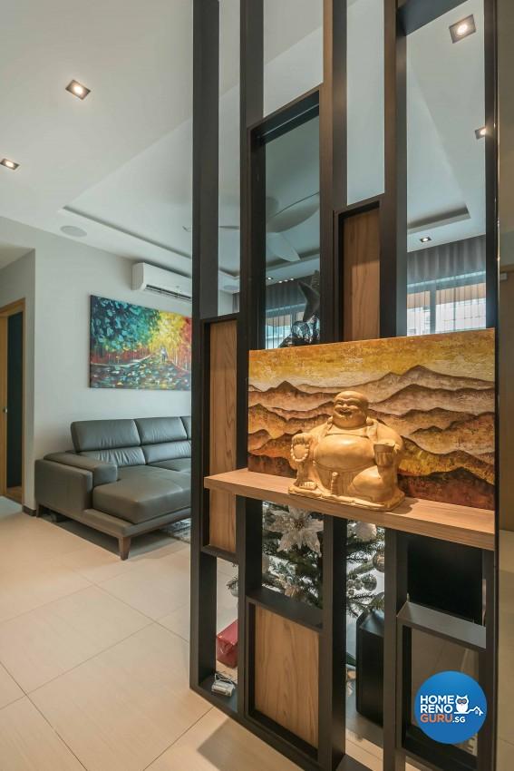 Classical Design - Living Room - Condominium - Design by The Orange Cube Pte Ltd