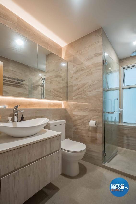 Classical Design - Bathroom - Condominium - Design by The Orange Cube Pte Ltd