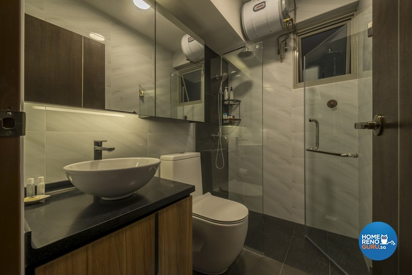 Industrial, Scandinavian Design - Bathroom - HDB 4 Room - Design by TBG Interior Design