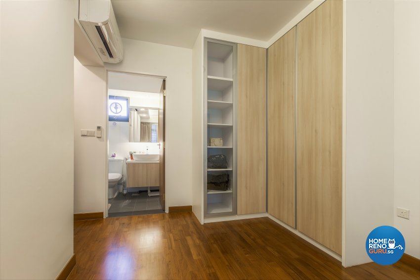 Minimalist, Resort Design - Bedroom - HDB 5 Room - Design by The Two Big Guys LLP
