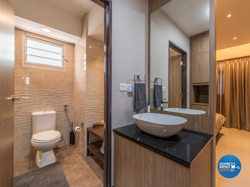 Country Design - Bathroom - HDB 4 Room - Design by TBG Interior Design