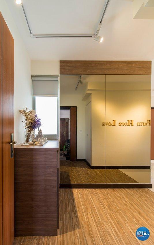 Country Design - Living Room - HDB 4 Room - Design by TBG Interior Design