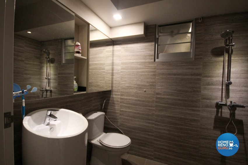 Classical, Country Design - Bathroom - HDB 5 Room - Design by TBG Interior Design