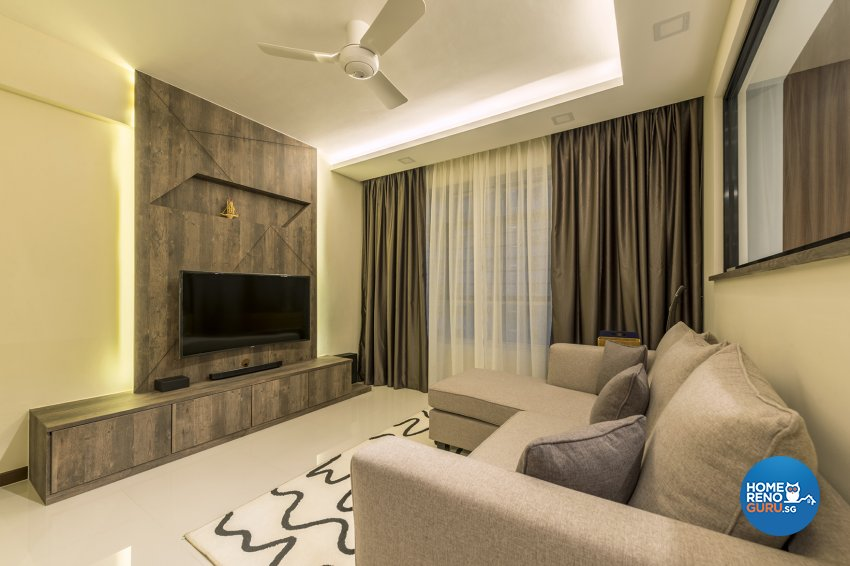 Modern, Others Design - Living Room - HDB 4 Room - Design by TBG Interior Design