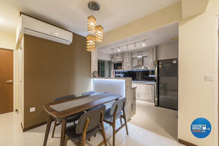 Modern, Others Design - Dining Room - HDB 4 Room - Design by The Two Big Guys LLP
