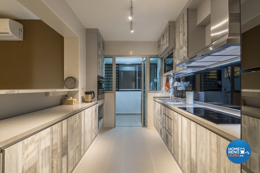 Modern, Others Design - Kitchen - HDB 4 Room - Design by The Two Big Guys LLP