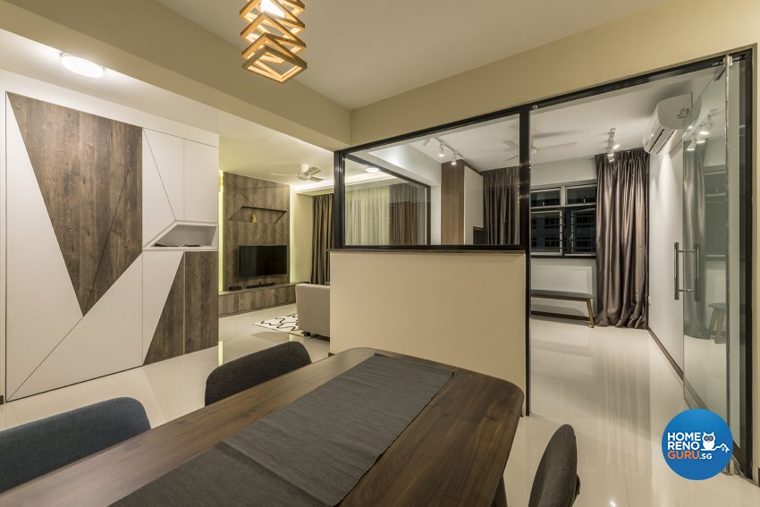 Modern, Others Design - Study Room - HDB 4 Room - Design by The Two Big Guys LLP