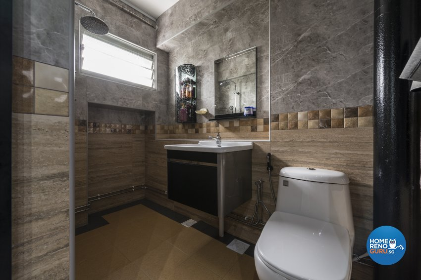 Country, Modern, Scandinavian Design - Bathroom - HDB 5 Room - Design by TBG Interior Design