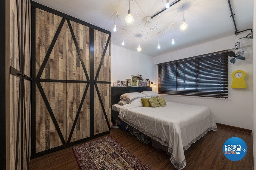 Contemporary, Eclectic, Vintage Design - Bedroom -  - Design by The Two Big Guys LLP