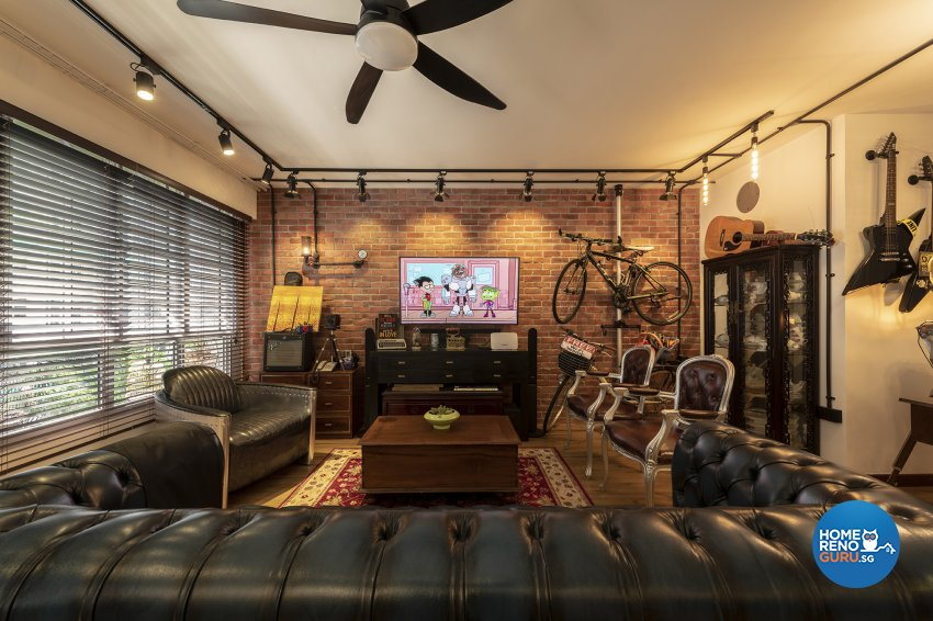 Contemporary, Eclectic, Vintage Design - Living Room -  - Design by TBG Interior Design