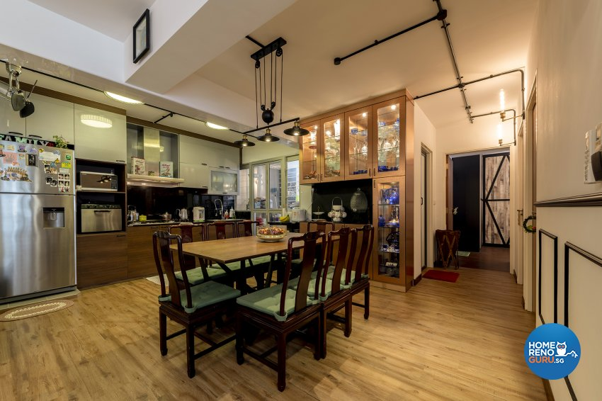 Contemporary, Eclectic, Vintage Design - Dining Room -  - Design by The Two Big Guys LLP