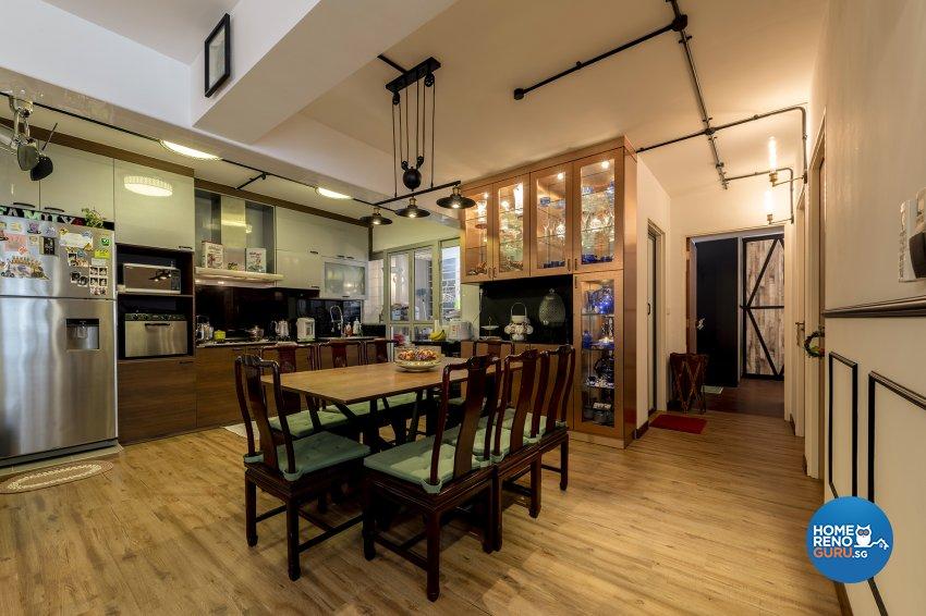Contemporary, Eclectic, Vintage Design - Dining Room -  - Design by TBG Interior Design