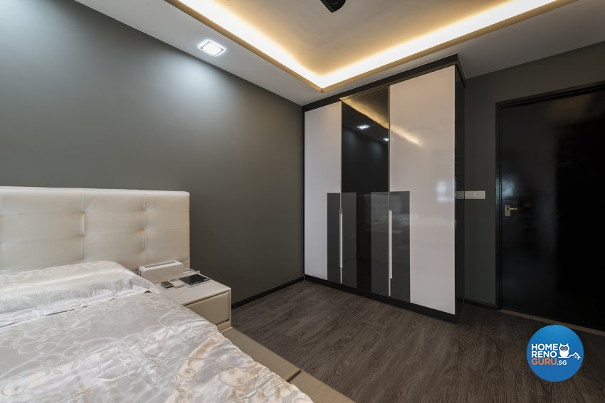 Contemporary Design - Bedroom - HDB 4 Room - Design by The Two Big Guys LLP