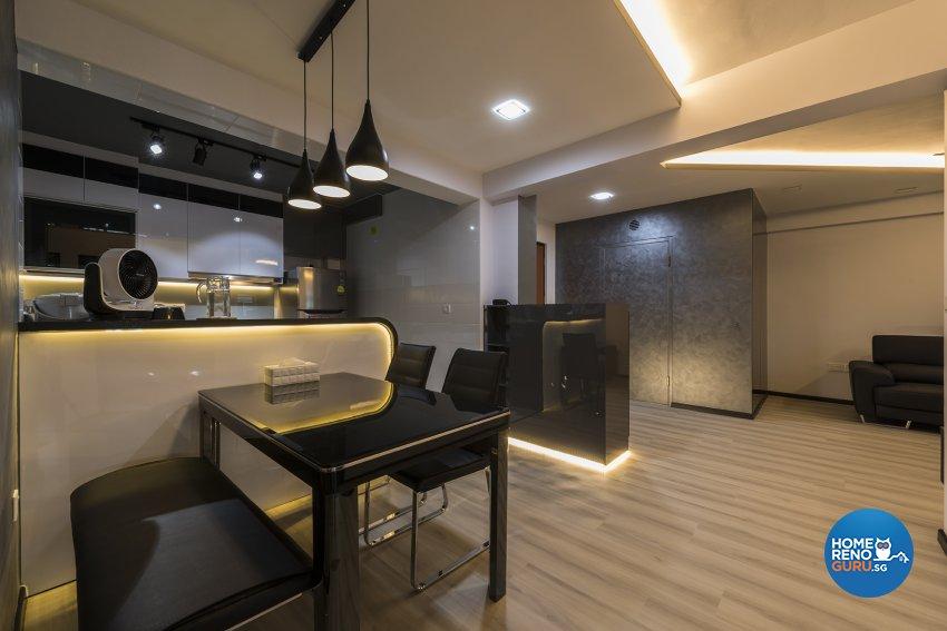 Contemporary Design - Dining Room - HDB 4 Room - Design by TBG Interior Design