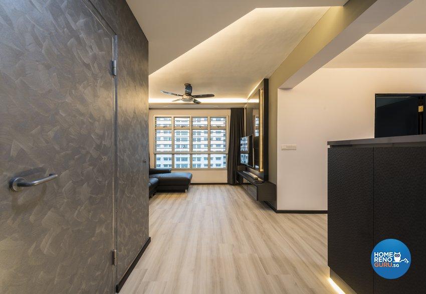 Contemporary Design - Living Room - HDB 4 Room - Design by TBG Interior Design