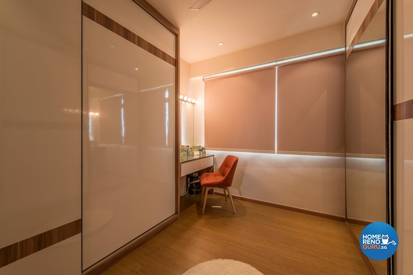 Country, Resort Design - Bedroom - HDB 4 Room - Design by The Two Big Guys LLP