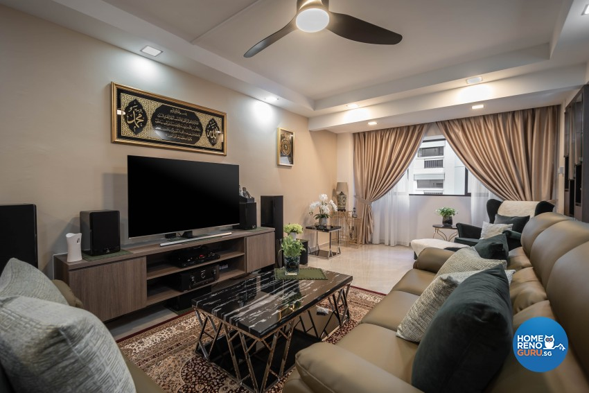 Modern Design - Living Room - HDB 5 Room - Design by TBG Interior Design