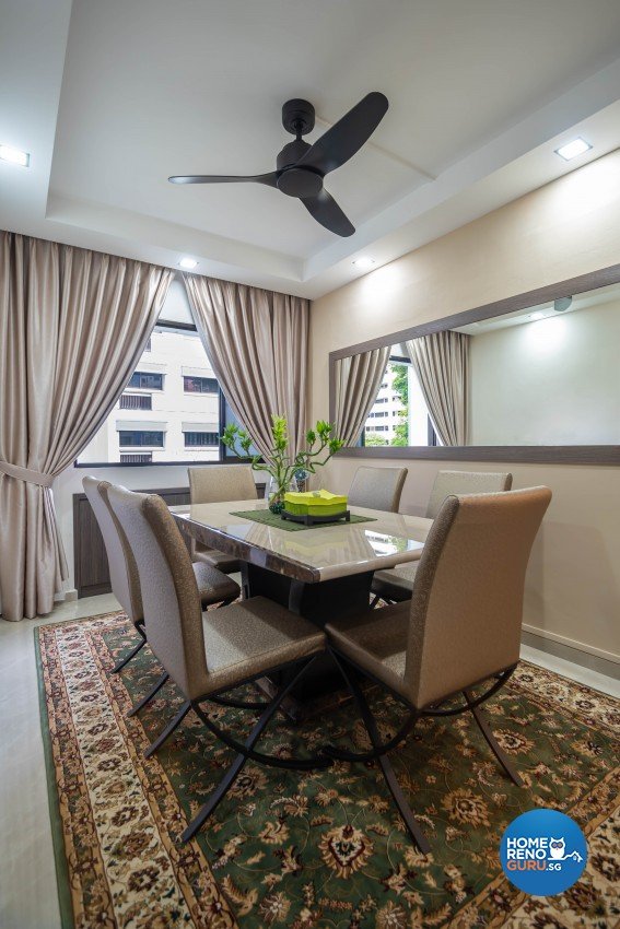 Modern Design - Dining Room - HDB 5 Room - Design by TBG Interior Design