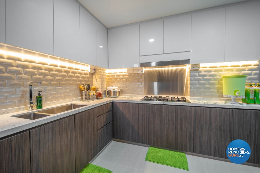 Modern Design - Kitchen - HDB 5 Room - Design by TBG Interior Design