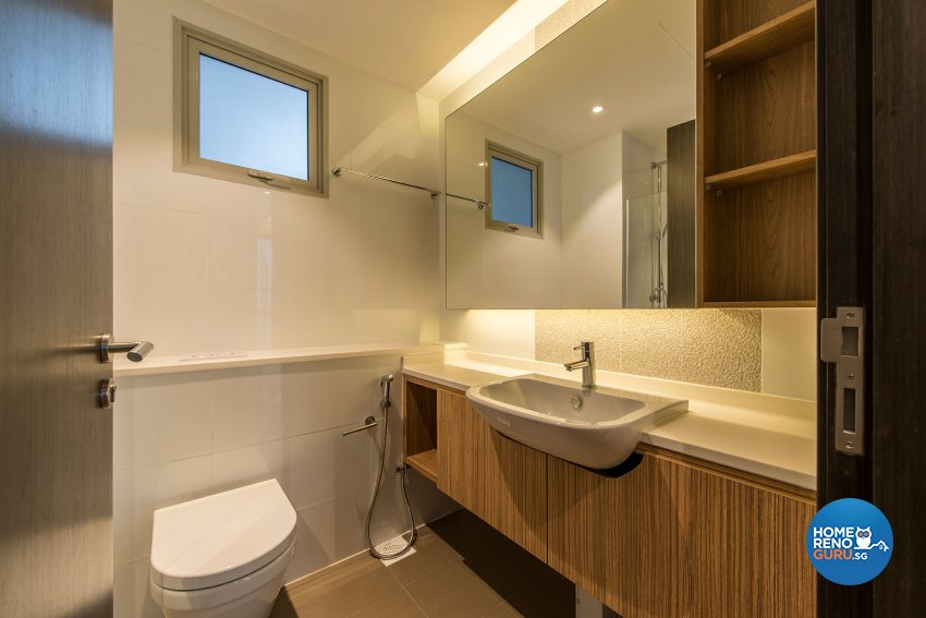 Scandinavian Design - Bathroom - Condominium - Design by TBG Interior Design