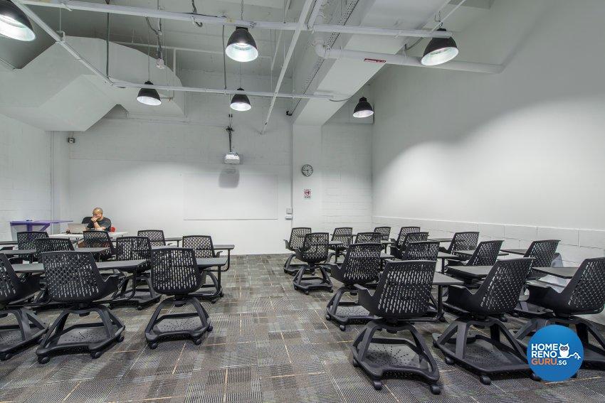 Industrial, Rustic Design - Study Room - Office - Design by TBG Interior Design