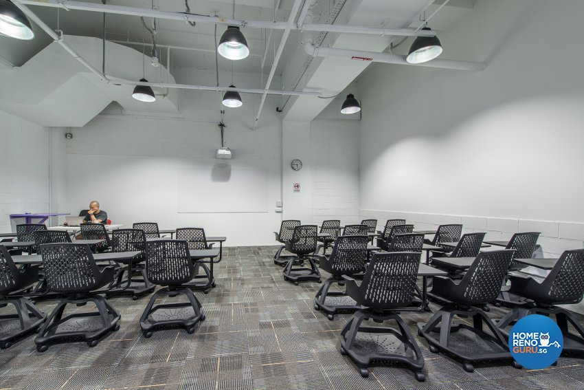 Industrial, Rustic Design - Study Room - Office - Design by The Two Big Guys LLP